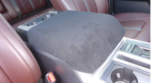 Fleece Car Console Cover