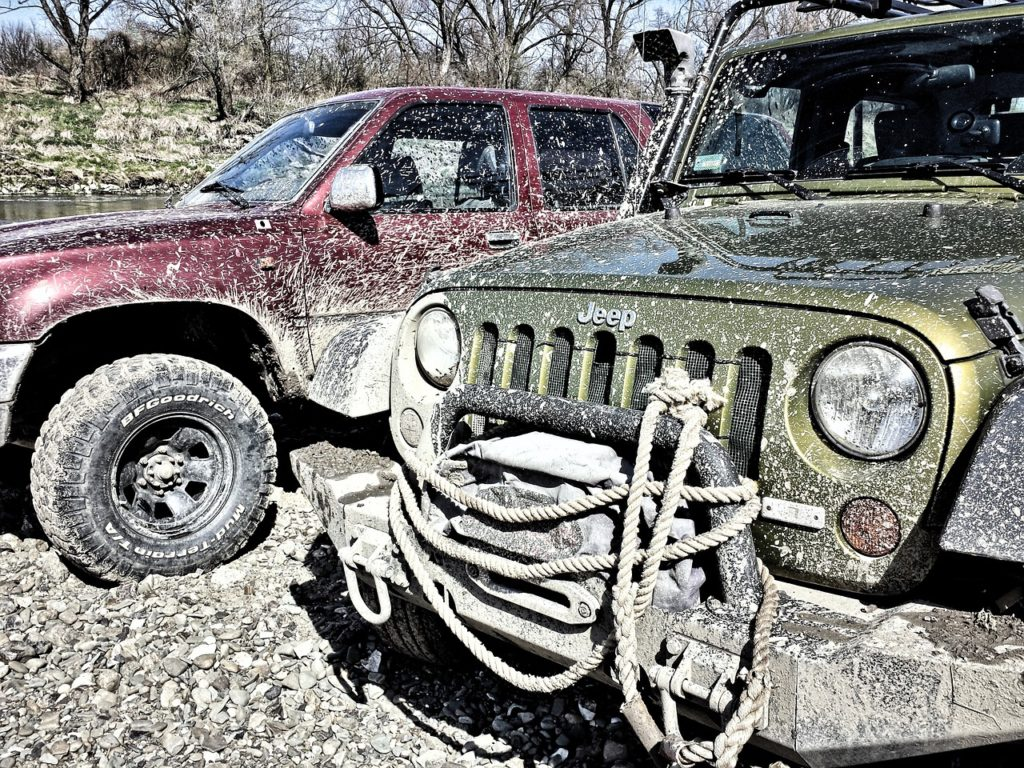 jeep offroading