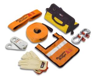 rugged ridge winch recovery kit